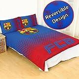 FC Barcelona Fade UK Double/US Full Duvet Cover and Pillowcase Set