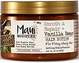 Maui Moisture Smooth and Repair Plus Vanilla Bean, Hair Butter, 12...