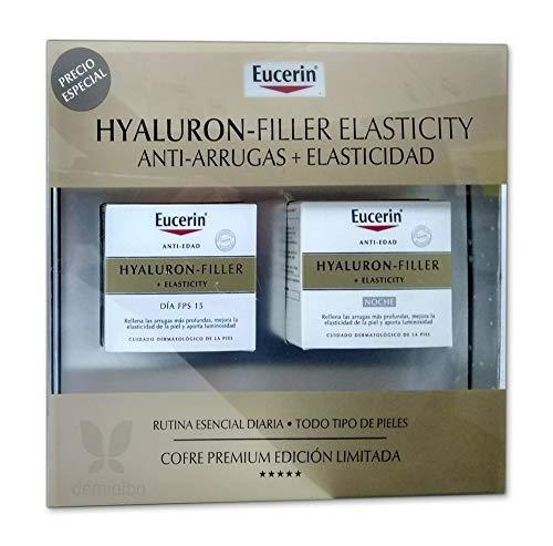 Eucerin Crema Eucerin Hyaluron-Filler Elasticity Crema De Dia 50 mililitros + Crema De Noche 50 mililitros - 50 ml