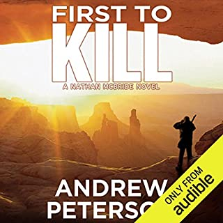 First to Kill  audiobook cover art