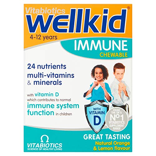 Vitabiotics Wellkid Immune Chewable – 30 Tablets