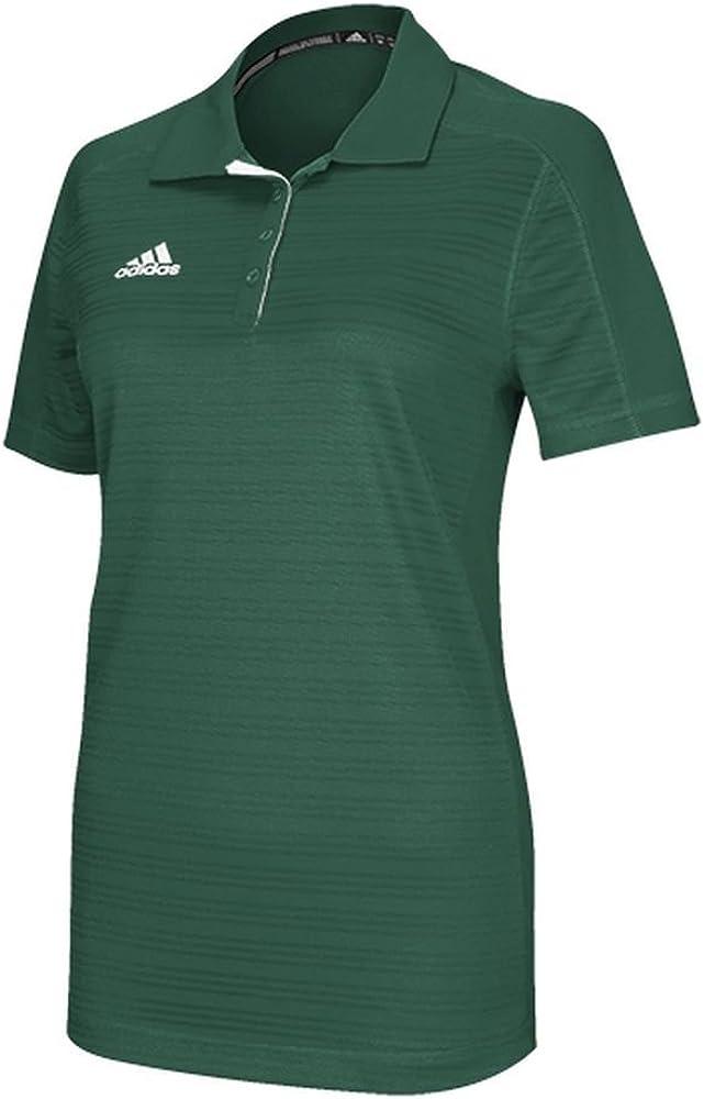 adidas Climalite Select Womens Polo M Dark Green