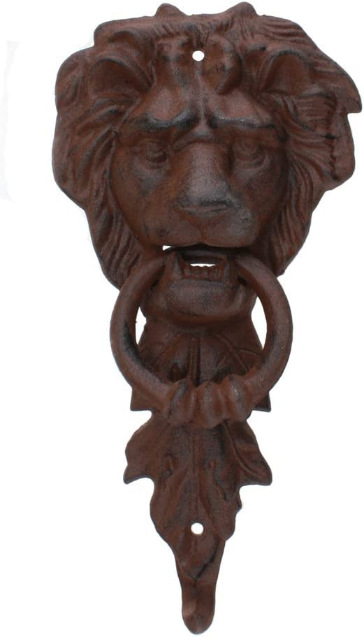 Large Iron 70% OFF Outlet Cheap super special price Lion Doorknocker Head MGS
