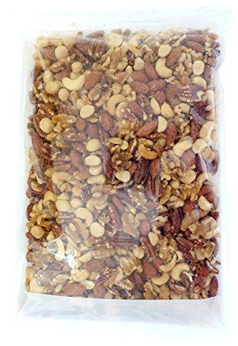オールスターナッツ 1kg (カシューナッツ アーモンド くるみ マカダミアナッツ ピーカンナッツ ) 食塩・加工オイル不使用