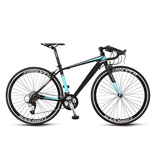 haozai Womens' Mountain Bike,Aluminum Alloy Low-span Frame,27-speed Transmission System,Hollow Breathable Seat,High-Carbon Steel Hard-Tail Mountain Bike