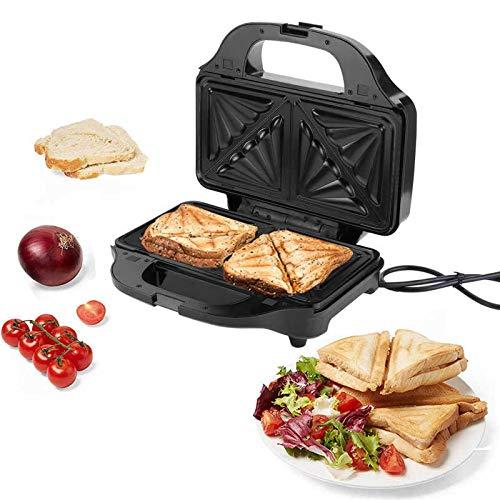 Sandwichera Y Waflera,Sandwichera Eléctrica Para El,Máquina Multifuncional Para Hacer Gofres De Sándwich...