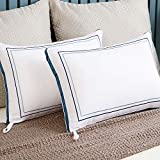 Kissmoon Pillows 2 Pack Luxury, Hotel Pillow Firm and Support, Goose Down Alternative