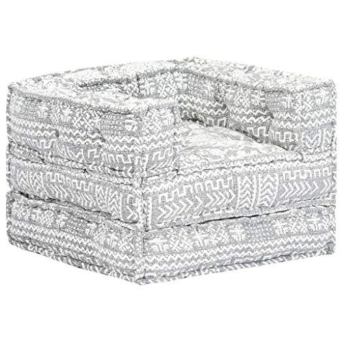 N / A vidaXL Modulares Sofa, Bettsofa Couch, Schlafcouch, Sofabett, Lounge Sofa, Umbaubares Sofa, Chaiselongue Mit Armlehnen und Schlaffunktion, für Wohnzimmer oder Schlafzimmer
