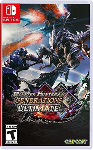 Capcom Monster Hunter Generations Ultimate - Nintendo Switch - Imported Item.