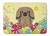 Caroline Tesoros del bb6102rug Huevos de Pascua pekingnese marrón se Puede Lavar a máquina. Alfombra de Espuma de Memoria, 19x 27', Multicolor