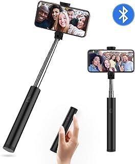 Yoozon Mini Palo Selfie, Bluetooth Selfie Stick Giratorio para Selfies y Videos, Extensible Monopié con Control Remoto Bluetooth, Ajustable para Smartphone como iPhone, Samsung, Huawei, Xiaomi etc.