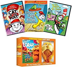 Ultimate Dr. Seuss 4-Movie DVD Collection: The Lorax / The Cat in the Hat / Green Eggs & Ham / The Best of Doctor Seuss + Limited Edition Lorax Plush Toy