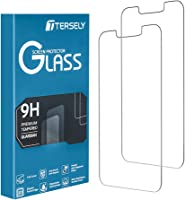 T Tersely [2 Packs] Screen Protector for Apple iPhone 13/iPhone 13 Pro (6.1 inch), Premium HD Tempered Glass Screen...