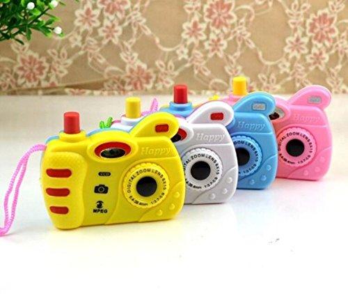 Tery Baby Juguetes Electrónicos Cámara Cámara de Dibujos Animados para niños Cámara de proyección de Burbujas Juguete Fotografía Prop Regalo