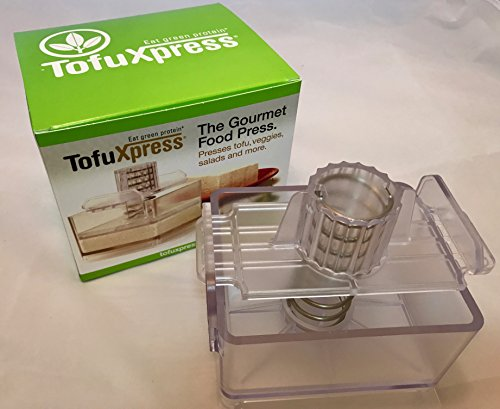 Gourmet Tofu Press/Marinating Dish - Clear, TofuXpress