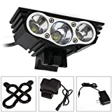SolarStorm 12000LM Bike 3 x CREE XM-L T6 LED Bicycle Lamp Outdoor Headlight Kit Top Selling Item
