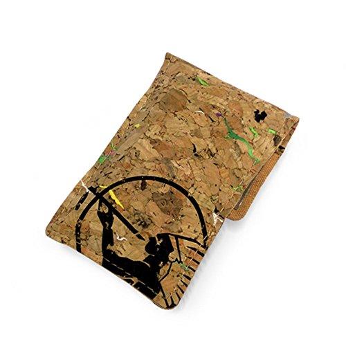 携帯灰皿 簡易防水 環境保護 ポケット サイズ おしゃれ かわいい (カーキ)