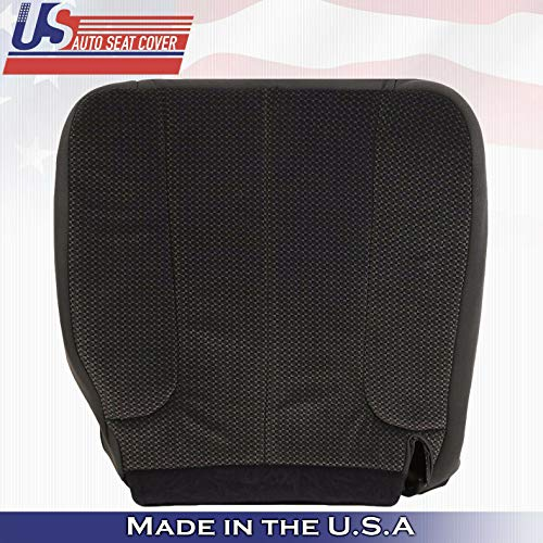 2004 Fits Dodge Ram 1500 SLT Driver Bottom Replacement Cloth Seat Cover Dark-Gray