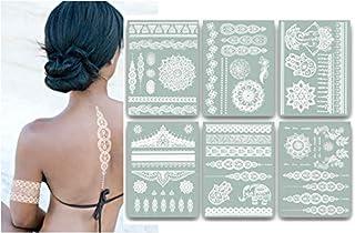 Terra Tattoos Jasmine (White)
