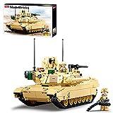 LICI Técnica militar, tanque de construcción modelo, 781 bloques de construcción de construcción para niños y adultos, compatible con Lego