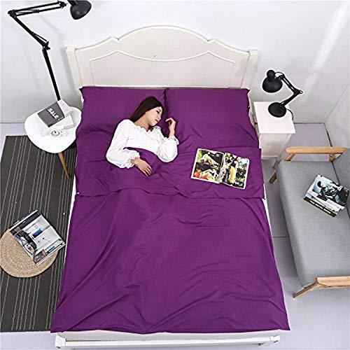 hotel life sheets purple - 8