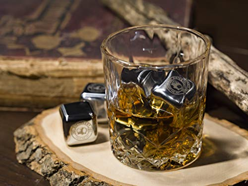 Whiskey Stones – Stainless Steel Reusable Ice Cubes