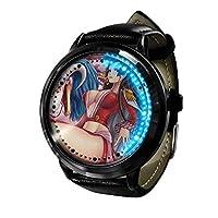ナルトシリーズアニメ時計LEDタッチノベルティ時計スポーツ時計パーソナライズされた時計ユニセックス時計誕生日プレゼントコレクターズエディション-A5