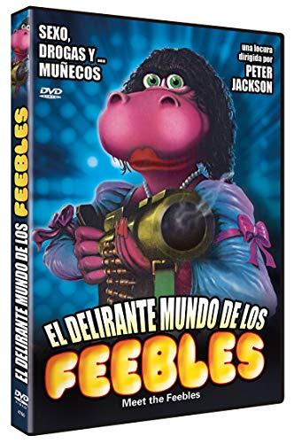 El Delirante Mundo de los Feebles DVD 1989 Meet the Feebles