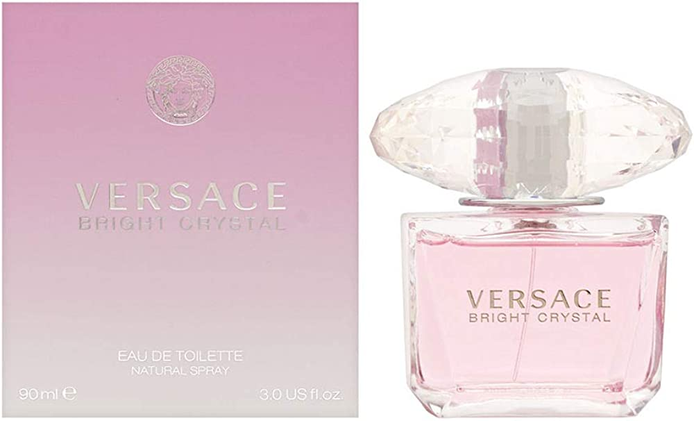 Versace bright crystal eau de toilette spray 90ml 18068