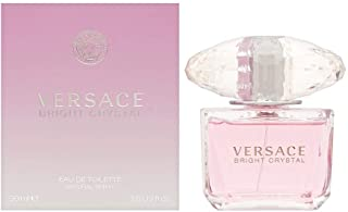 Versace Bright Crystal Eau de Toilette Spray for Women, 3...