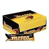 Ulker Metro Karamel & Nugali Cikolata / Chocolate W/Caramel - 40 gr (24 Pack)