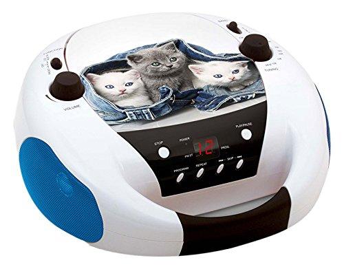 Big Ben, Portable Radio/CD Player - Cats 2