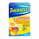Theraflu Multi Symptom Severe Cold with Lipton Caplets, 6 Count (Pack of 2)