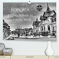 Bangkok Impressionen in Schwarz Weiss (Premium, hochwertiger DIN A2 Wandkalender 2022, Kunstdruck in Hochglanz): Eindruecke aus der Hauptstadt von Thailand (Geburtstagskalender, 14 Seiten )
