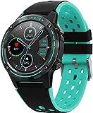 ZHICHUAN Smartwatch Smart Watch, Fitness-Tracking, Aktiver Tracker, Schrittzähler, Schlafmonitor, Kalorien, 1,3-Zoll-Hd-Farbbildschirm, 5Atm Wasserdicht, Stoppuhr, Grün Weihnachtsge