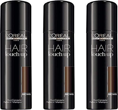 Loreal Hair Touch Up braun 3x75 ml