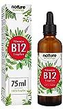 Vitamin B12 Tropfen 75ml 1000µg - 1875 Vegane Tropfen zum
