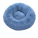 IANSISI Round Cat Bed, Soft Plush Pet Bed, Best Pet Dog Bed, Supplies for Pets,...