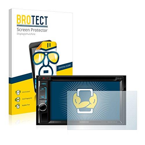 BROTECT Schutzfolie kompatibel mit Kenwood DDX5015DAB (2 Stück) klare Displayschutz-Folie