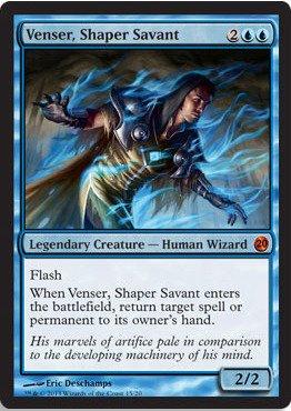 Magic The Gathering - Venser, Shaper Savant (15/20) - from The Vault: Twenty - Foil