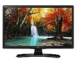LG 24TK410V monitor piatto per PC 61 cm (24') HD Opaco Nero