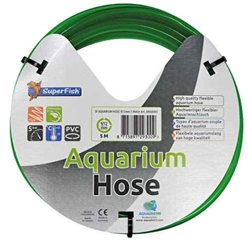 Superfish aquarium slang 9/12mm 5mtr