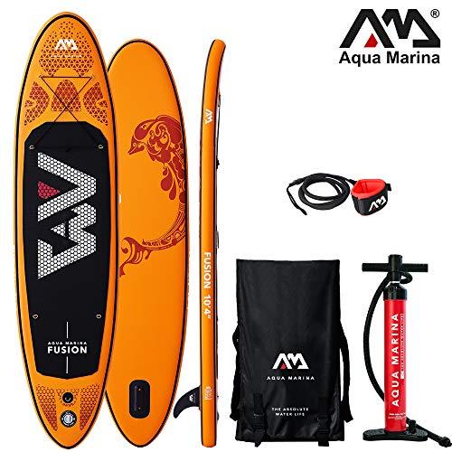 Aqua Marina Fusion aufblasbares SUP - i SUP, Stand up Paddelboard 315x76x15cm