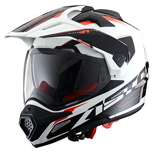 Astone Helmets TOURER-ADVGBL Crosstourer Adventure - Casco 3 en 1, color Gris, L