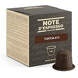 Note d'Espresso Italiano - Cápsulas de chocolate, Compatible con cafeteras Nespresso, 40 unidades de 7 g