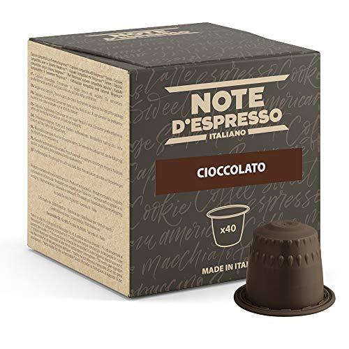 Note D'Espresso - Kapselmaschinen - ausschließlich Kompatibel mit Nespresso*- Schokolade - 7g x 40