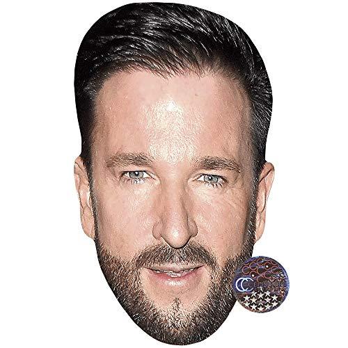 Celebrity Cutouts Michael Wendler (Beard) Maske aus Karton