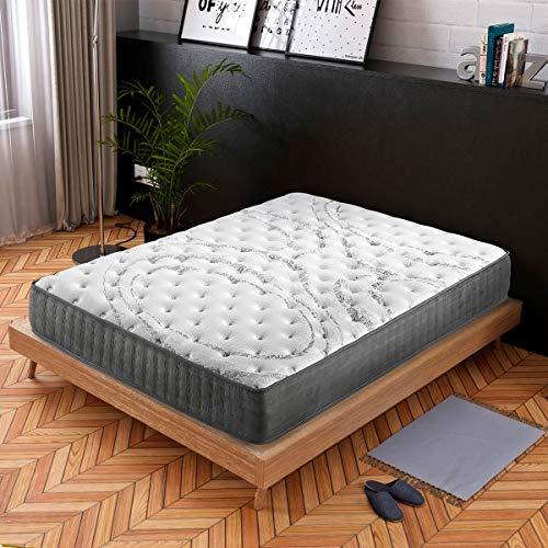 ConfortLas Colchón de Espuma HR viscoelástico Microtemp, 150x190