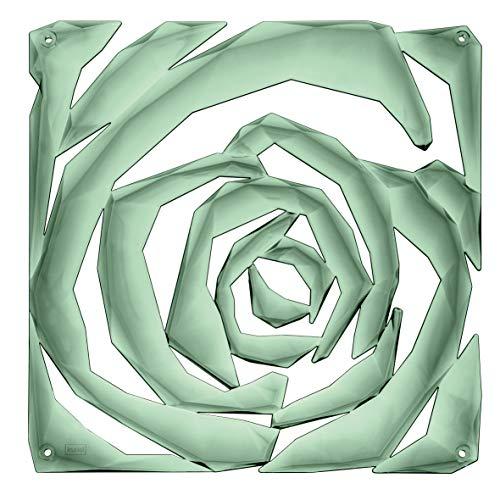 koziol ROMANCE Raumteiler, thermoplastischer Kunststoff, transparent eucalyptus green