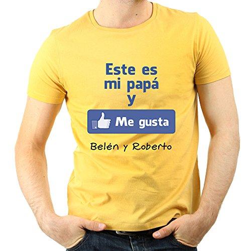 Camiseta 'Me gusta' de Facebook personalizada